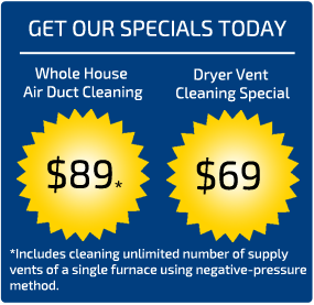 Air Duct Cleaning Mill Creek Coupons